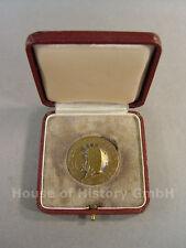 87988, Bronzene Meisterschafts Medaille des Deutscher Fechter Bund, Juni 1955