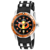 Invicta Women's Watch Disney Quartz Black Dial Two Tone Strap 26855