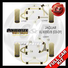 Jaguar XJ, XJ8 - X350 - X358 03-09 RrArm Bush 58mm Long Powerflex Black Full Kit