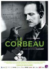 Affiche Pliée 40x60cm LE CORBEAU 1943 Clouzot - Pierre Fresnay R2017 NEUVE