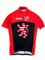 Bio Racer Triathlon Hassen Team Cycling Jersey Full zip size 3/M