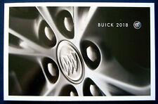 Prospectus brochure 2018 BUICK programme (USA)