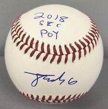 Jonathan India SIGNED Rawlings Official SEC Baseball w 2018 POY ~ Florida Gators