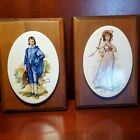 Gainsborough Wall Hanging Blue Boy And Pinky