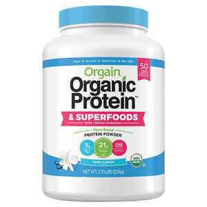 Orgain Organic Plant Protein and Superfoods Powder FRESH