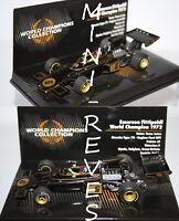 Minichamps F1 Lotus 72 WC 1972 E. Fittipaldi 1/43 436720006