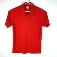 Puma DryCell Premium Red Golf Polo Shirt Size Men's Small