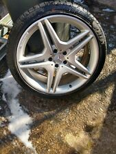 3 Mercedes AMG 20 inch Alloy Wheels and Tyres.