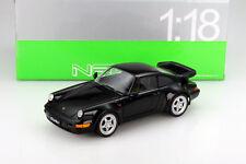 Porsche 911 (type 964) Turbo noir 1:18 Welly