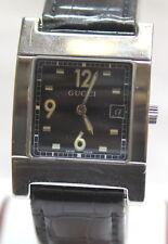 Gucci 7700M Swiss Quartz Leather Band Watch