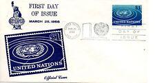 UN NY FDC #150 Definative, Interpex (2997)