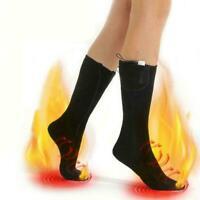 Mens Women Winter Super Warm Heated Socks Heavy Duty + Boots Battery Socks