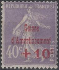 "FRANCE STAMP TIMBRE N° 249 b "" CAISSE AMORTISSEMENT VARIETE "" NEUF xx TTB K222"
