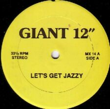 "KC Flightt / Steve Poindexter Let's Get Jazzy /Work That Mother Fucker 12 "" Maxi"