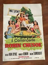 MANIFESTO 2F,,Il comandante Robin Crusoe (Lt. U.S.N.),WALT DISNEY,VAN DYKE KWAN