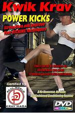 """""""POWER KICKS"""" Krav Maga Conditioning & Training DVD"""