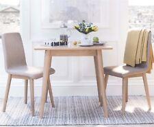 Edvard Olsen golden oak Square table.Solid oak kitchen table. Dining furniture
