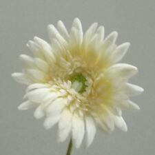Gerbera weiße 55 cm weiß künstliche Blumen Hochzeit Taufe Deko
