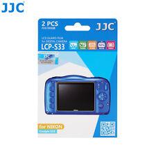 JJC LCD Guard Film Camera Screen Display Protector For NIKON Coolpix S33 W100