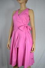 Lauren Ralph Lauren Hot Pink Linen Dress NWT Sz 2 $159