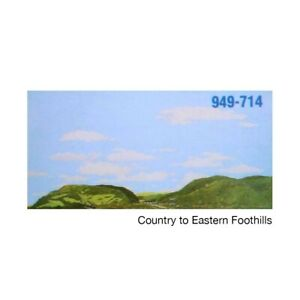 "Walthers 949-714 HO Instant Horizons ""Country to Eastern Foothills"" NEW"