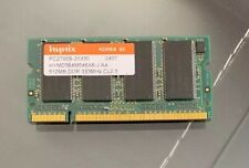 Hynix 512 MB PC2700 DDR-333 333 MHz Laptop Memory RAM HYMD564M646A6-J AA