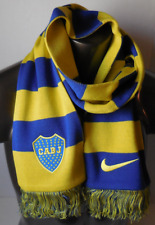 NIKE Boca JRS Sport Supporter Scarf Color Tour Yellow/Bright Blue Size OSFM New