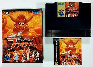 SNK Neo geo aes The King Of Fighters Batalla Examen Juego Jap. Ntsc Ovp 122Meg