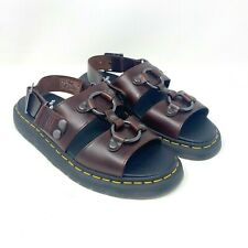 Dr Martens Sandals Xabier Leather Doc Strap Unisex Air Women's 10 Men's 9 NWOT
