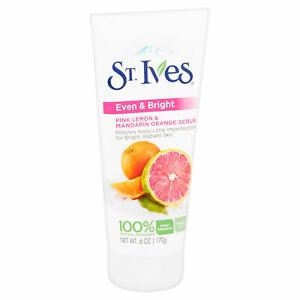 St. Ives Even & Bright Pink Lemon & Orange Scrub 150ml