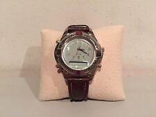 1995 Limited Edition Vintage Original GUESS Quartz Watch Japan Movement Leather!