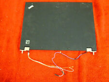 Lenovo Thinkpad T410 Lid - LCD Back Cover with Bezel, Hinges, Antenna #198-29