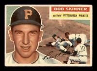1956 Topps Set Break # 297 Bob Skinner VG-EX *OBGcards*