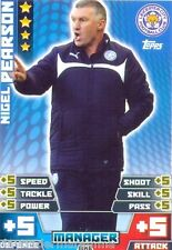 2014/2015 Match Attax Extra Manager Lecister City Nigel Pearson