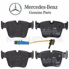 For Mercedes X253 GLC43 W205 C205 A205 C43 AMG Rear Disc Brake Pad Set & Sensor