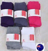 Girls Baby Kids Cotton Mix Warm Striped Bottoms Tights Pantyhose Stockings
