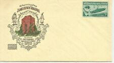 1957 Scott 1091 U. S. Naval Review Norfolk, Virginia one 3 cent stamp cover