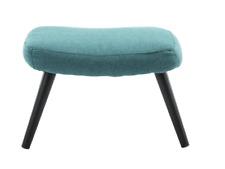 TEAL Ollie Fabric Footstool