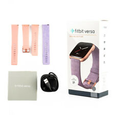 Fitbit Versa Special Edition Lavender With Extra Classic Purple Band New Sealed