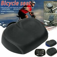 Extra Comfort Wide Big Bum Bike Bicycle Gel Cruiser Sporty Soft Pad Saddle Seat