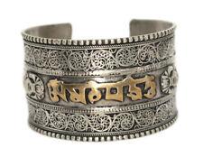 Cuff Bracelet Om Bracelet Tribal Bracelet Bohemian Bracelet Gypsy Yoga Healing