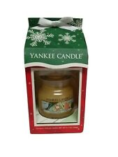 New Yankee Candle Christmas Cookie 3.7 oz in Christmas Carton Package Gift Box