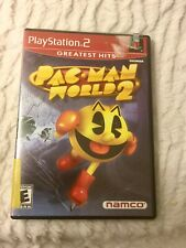 Playstation 2 (PS2) Pac-Man (Pacman) World 2 w/ Manual -