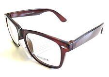 Liquidación: Gafas de Pasta color marrón, estilo Retro, unisex