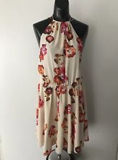 HAUTE HIPPIE Women's Floral Dress Size M NEW w/Tags $345