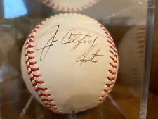 A's Hall of Famer Jim Catfish Hunter Signed Baseball - JSA Authenticated