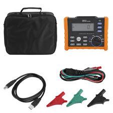 PEAKMETER MS5910 Digital Resistance Meter RCD/Loop Resistance Tester Multimeter