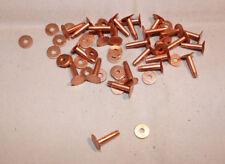 "#12 Rivets & Burrs - 1/2"" - Copper - Pack of 100 (F228)"