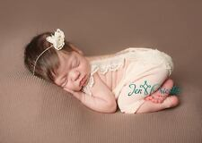 Baby Fotografie Body+Kopfband Set, Neugeborenen Photo Prop, Newborn Fotoshooting