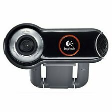 Logitech Quickcam Pro 9000 Wired USB Webcam for Mac 960-000048 (IL/RT5-960-00...